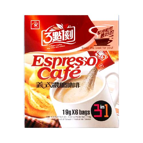 Image of 3:15PM 3 in 1 Espresso Cafe 14g X 12Bags