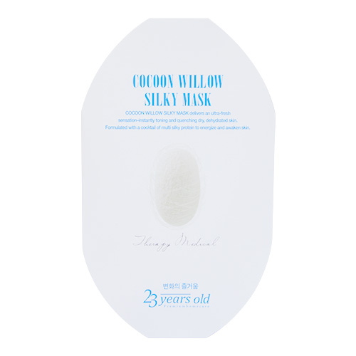 Image of 23 YEARS OLD Cocoon Willow Silky Mask 1sheet