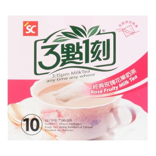 3:15PM Rose Fruity Milk Tea 10Bags 200g