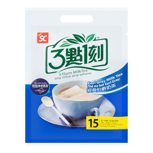 3:15PM Multi-Serve Earl Grey Milk Tea 15Bags 300g