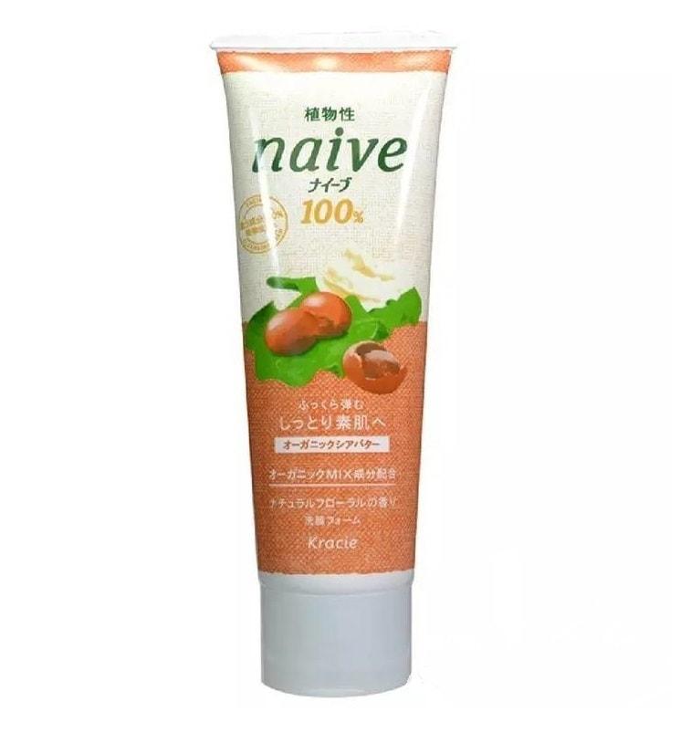 KRACIE Naive Shea Butter Facial Cleansing Foam