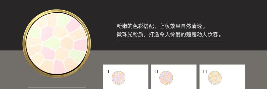 日本ELEGANCE 极致欢颜蜜粉饼 #VI 27g E大饼家庭装 COSME大赏受赏