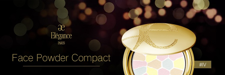 ELEGANCE Face Powder Compact #IV 8.8g