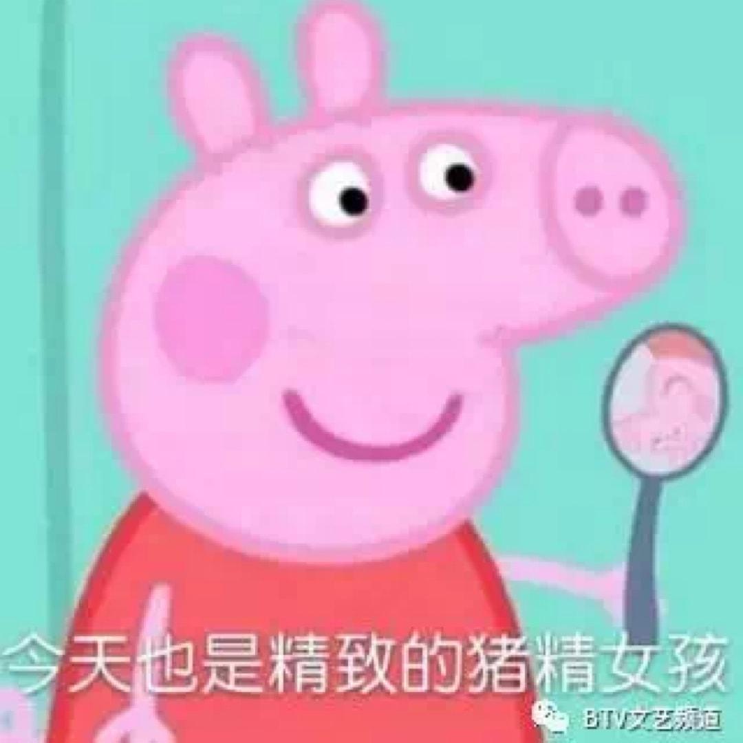 猪精女孩头像
